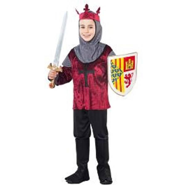 Disfraz Caballero Cruzado Medieval 10-12 Años