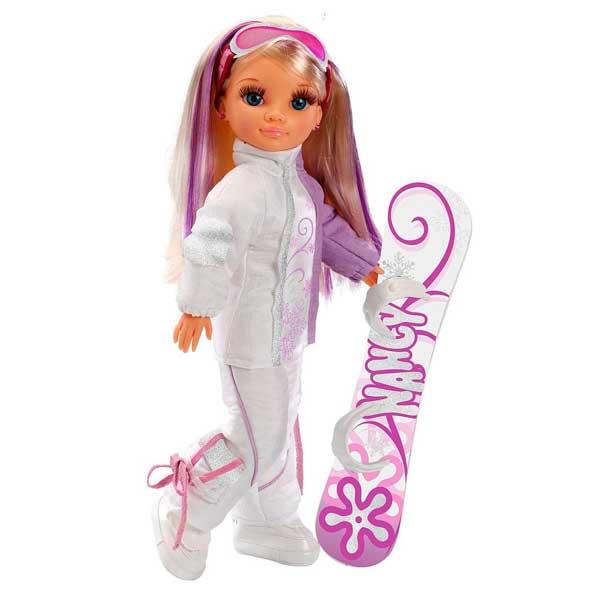 Muñeca Nancy Brillos en la Nieve Esquiadora