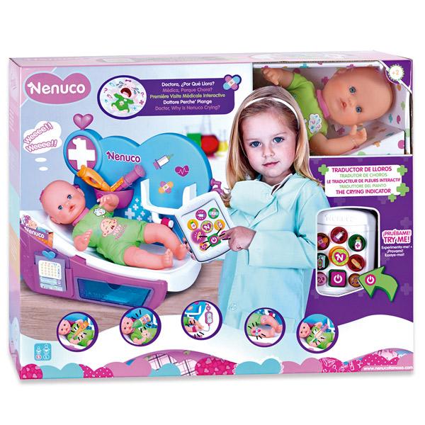 Muñeco Nenuco Doctora Por que Llora? - Imatge 1