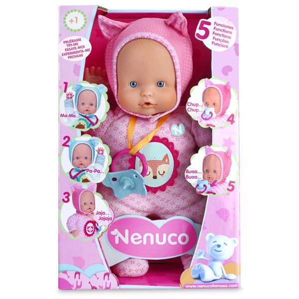 Nenuco Tovet 5 Funcions Color Rosa - Imatge 1