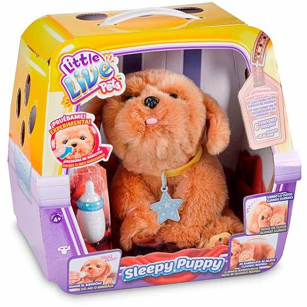 Perrito Sleepy Puppy Little Live Pets - Imagen 1