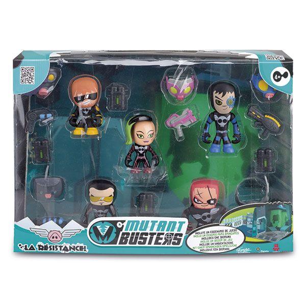 Pack 5 Figures Resistance Mutant Busters - Imatge 1