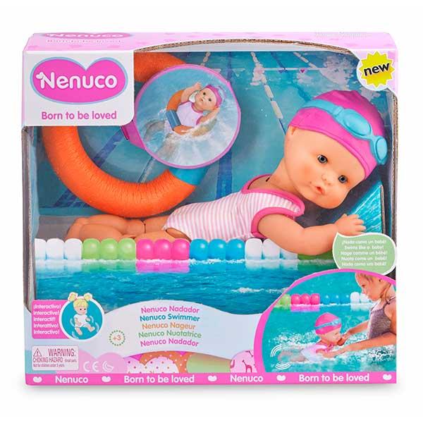Muñeco Nenuco Nadador - Imagen 1
