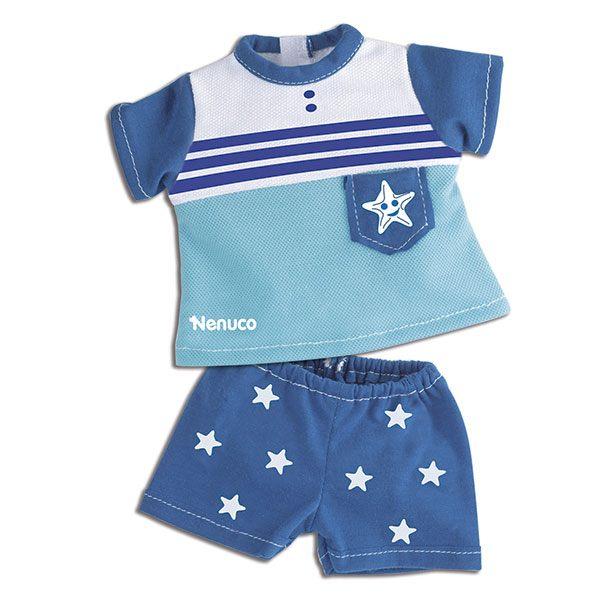Nenuco Ropa Casual Camiseta y Pantalon Azul