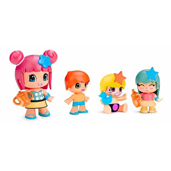 Pinypon Figuras Pack 4 y Bebes - Imagen 1