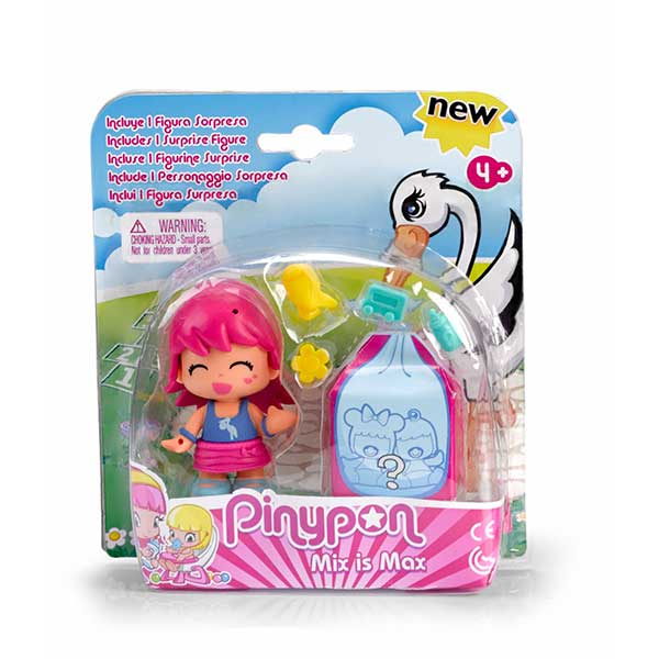 Pinypon Figura Pack y Bebe Sorpresa #5 - Imatge 1