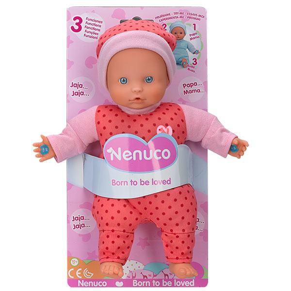 Muñeco Nenuco 3 Funciones Color Rosa - Imatge 1