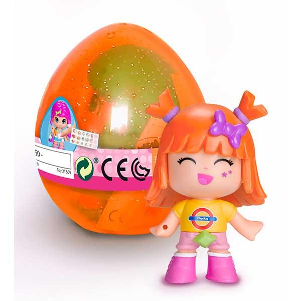 Ou Taronja amb Figura Pinypon - Imatge 1