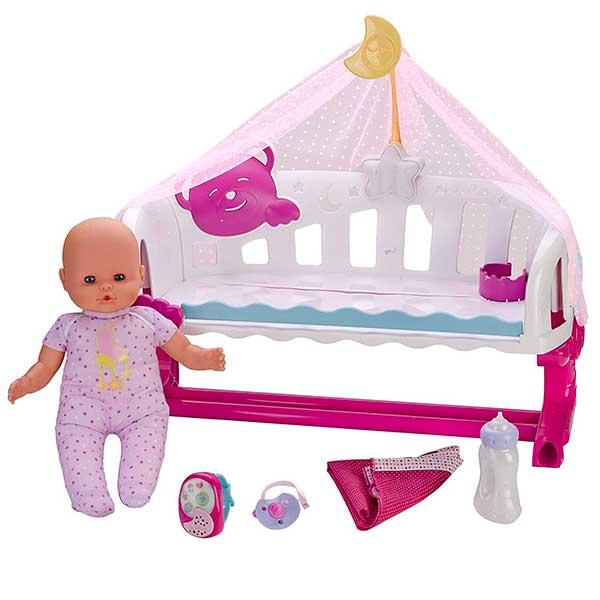Muñeco Nenuco Cunita Duerme Conmigo con Baby Monitor - Imagen 1