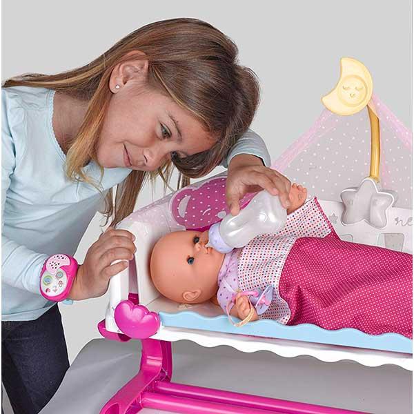Muñeco Nenuco Cunita Duerme Conmigo con Baby Monitor - Imagen 3