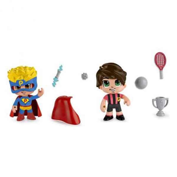 Pack Super Heroi i Esportista Pinypon Action - Imatge 1