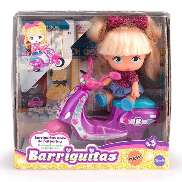 Barriguitas Scootie de Purpurina - Imatge 1