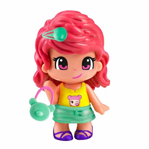 Figura Nena Cabell Taronja Pinypon Emoji #9 - Imatge 1