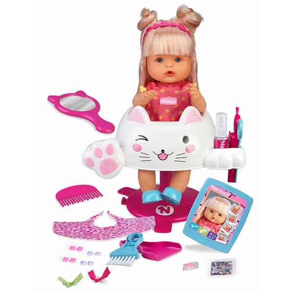 Muñeco Nenuco Peluquería Purpurina