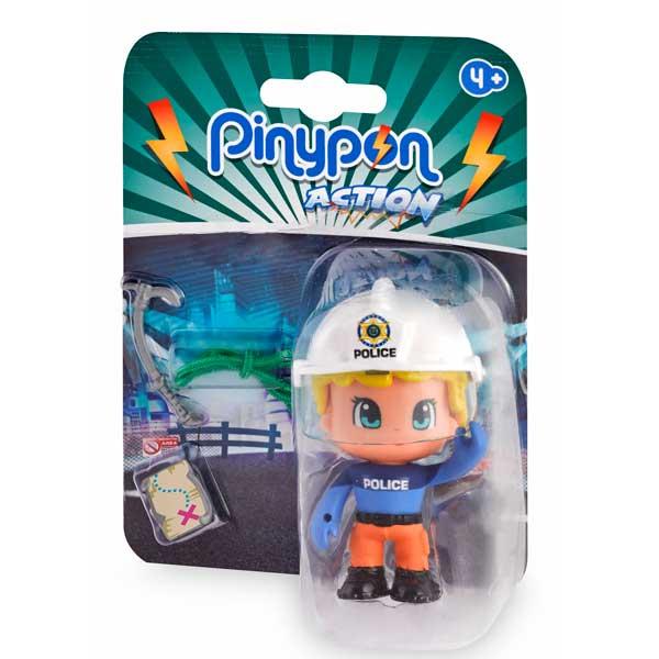 Pinypon Action Figura Policía Escaladora - Imatge 1