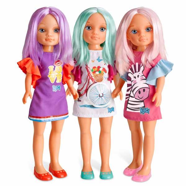 Muñeca Nancy Un día de color Turquesa - Imatge 2