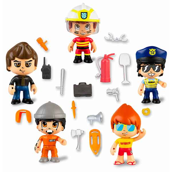 Pinypon Action Pack 5 Figuras S2 - Imagen 1
