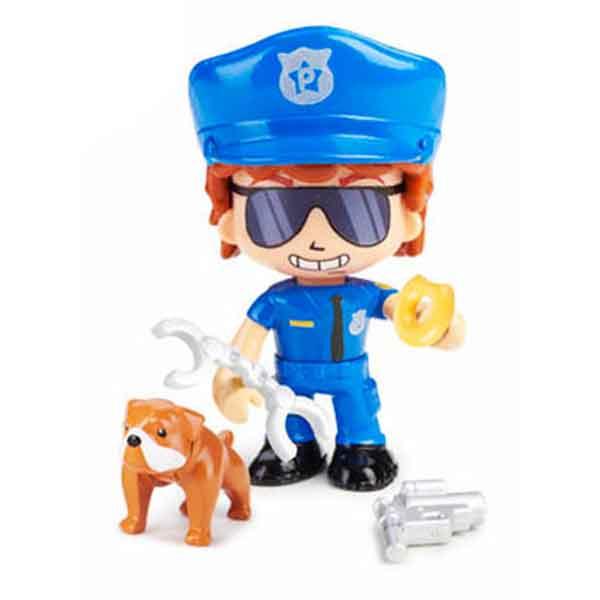 Pinypon Figura Policia i Bulldog Sheperd - Imatge 1