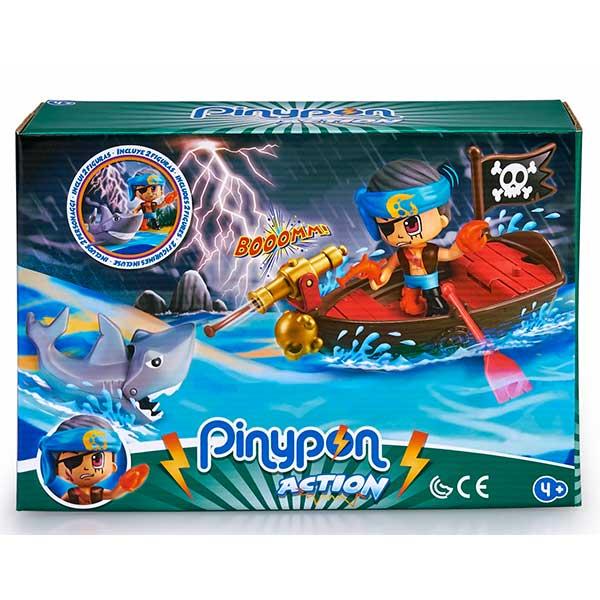 Pinypon Action Barca Pirata