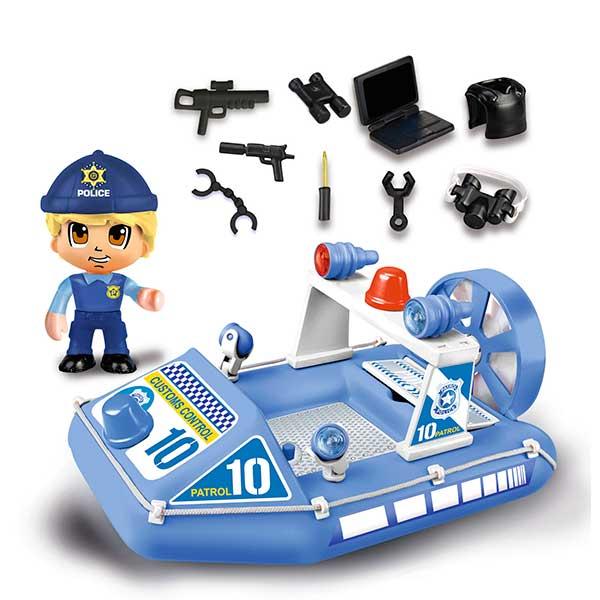 Pinypon Action Lancha de Policía con Figura - Imatge 1