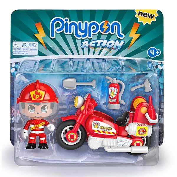 Pinypon Action Moto de Bombers - Imatge 1