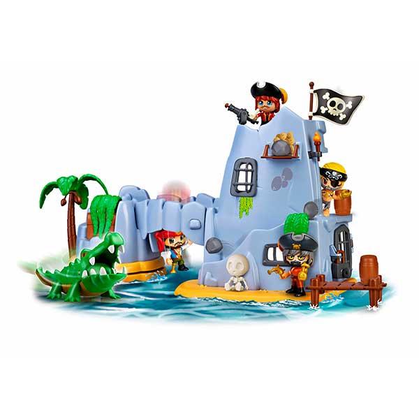 Pinypon Isla Pirata del Capitán Caimán