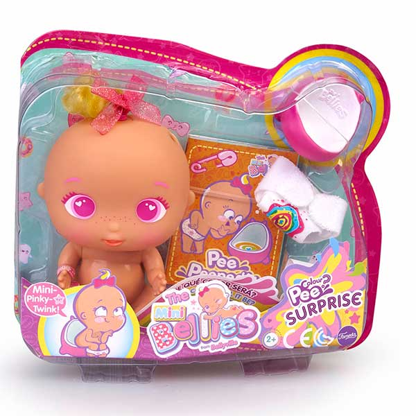 Muñeca Bellies Mini Pink Twink Pee Surprise