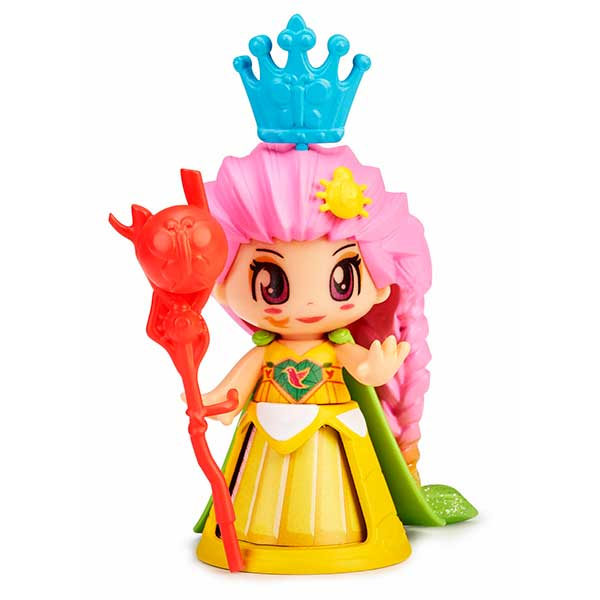 Pinypon Figura Reina Vestido Amarillo
