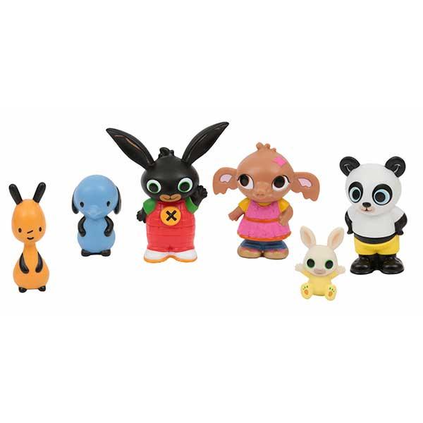 Bing Pack 6 Figuras Personajes - Imagen 1