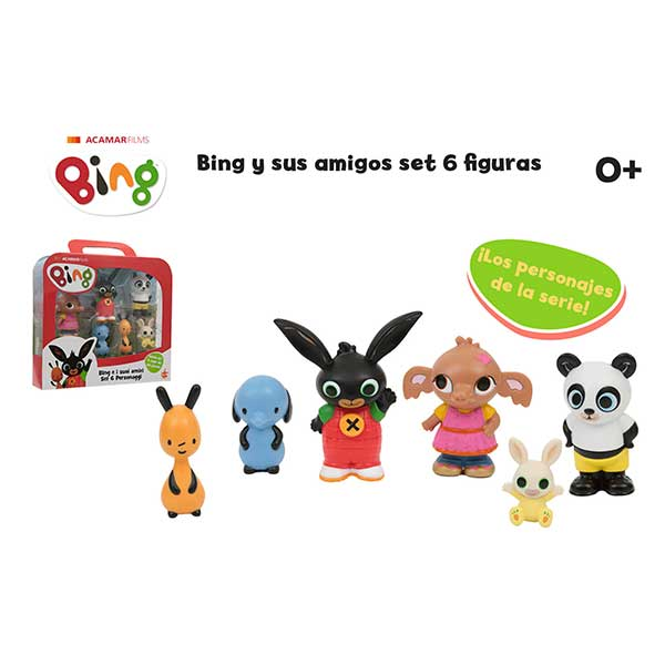 Bing Pack 6 Figuras Personajes - Imagen 2