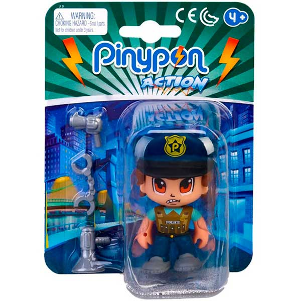 Pinypon Action Figura Policía # 3