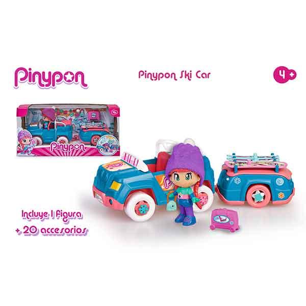 Pinypon Coche Nieve con Remolque - Imagen 2