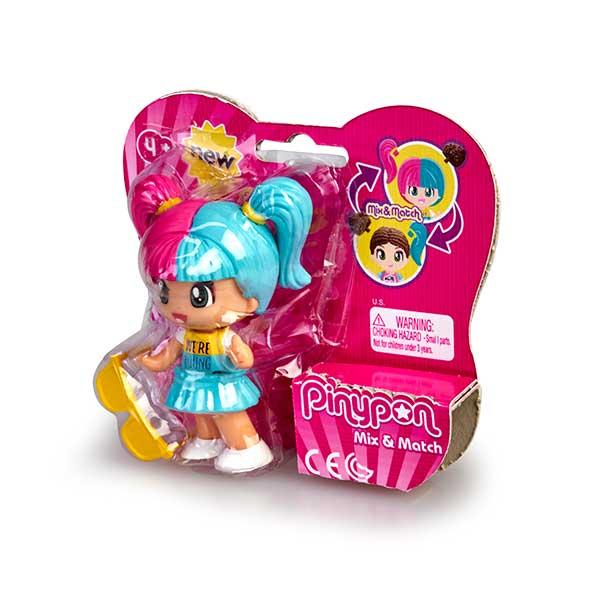 Pinypon Figura Cabello Rosa y Azul New Look - Imagen 1