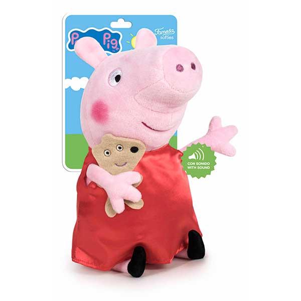 Peppa Pig Peluche con Sonidos 27cm