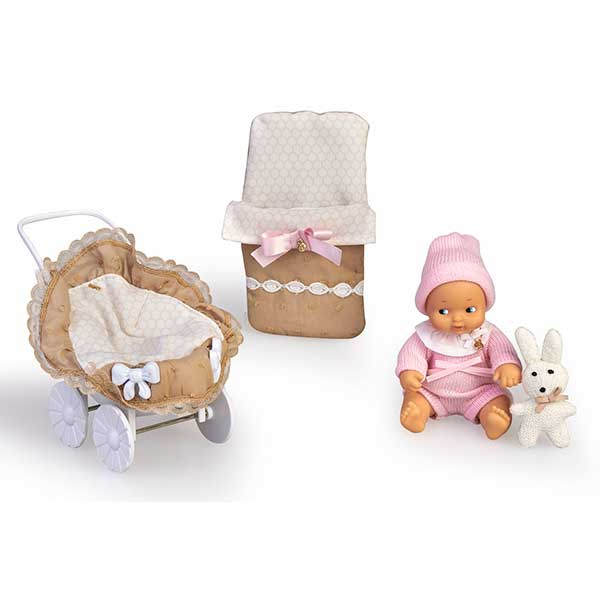 Barriguitas Cochecito con Figura Bebé