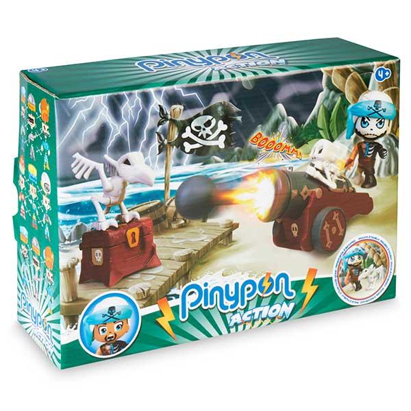 Pinypon Action Cañón Pirata Fantasma - Imagen 1