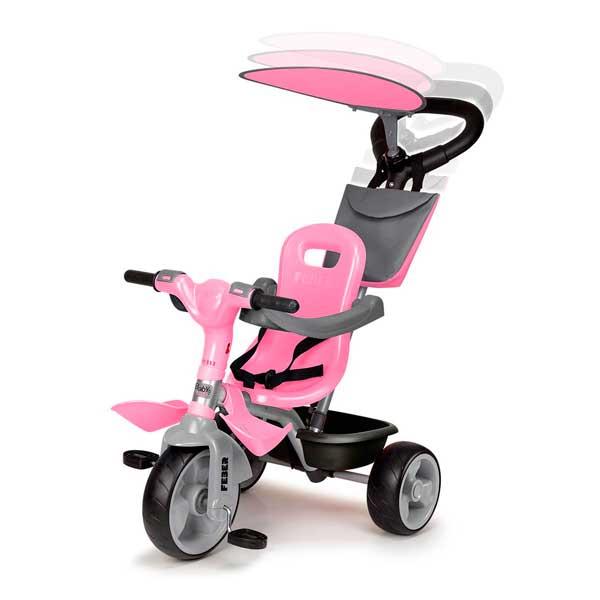 Triciclo Evolutivo Baby Plus Music Rosa