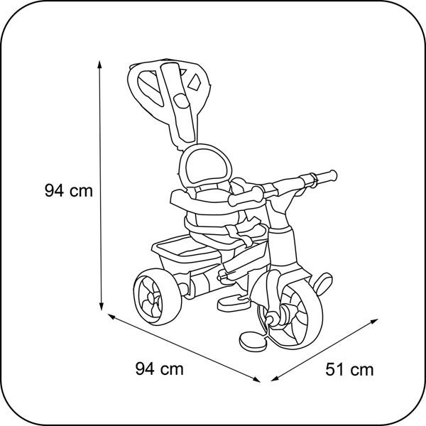 Triciclo Ferrari - Imatge 2