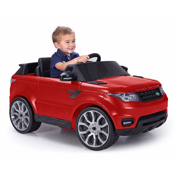 Range Rover Vermell 6V i R/C - Imatge 1