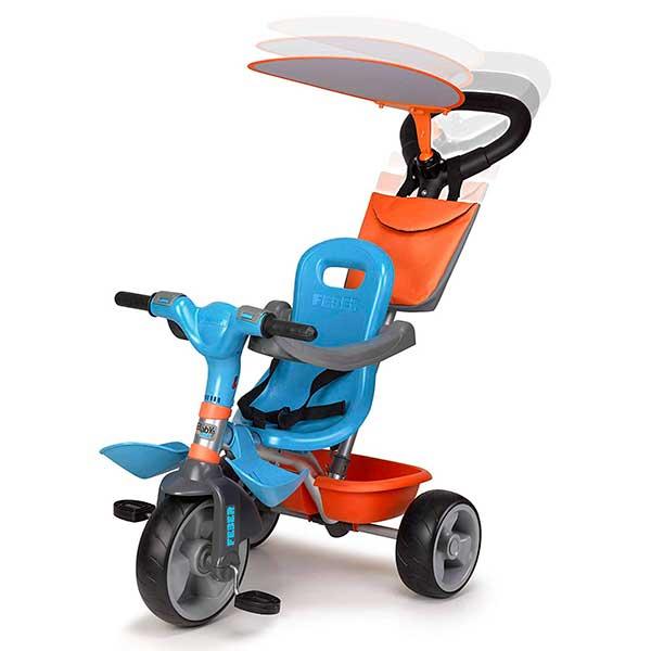 Tricicle Evolutiu Baby Plus Music Blau - Imatge 1
