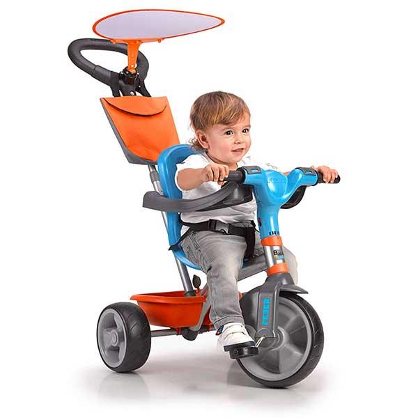 Triciclo Evolutivo Baby Plus Music Azul - Imatge 1
