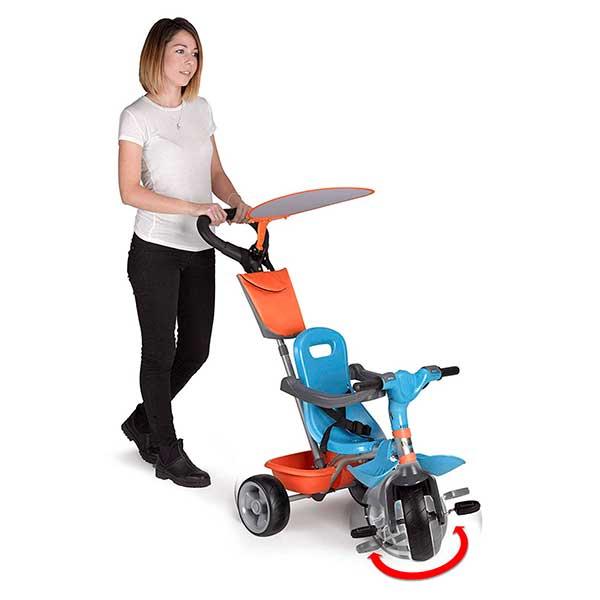 Triciclo Evolutivo Baby Plus Music Azul - Imatge 2