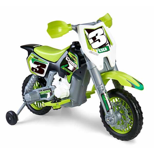 Moto Elèctrica Feber Rider Cross Bateria 6V - Imatge 1