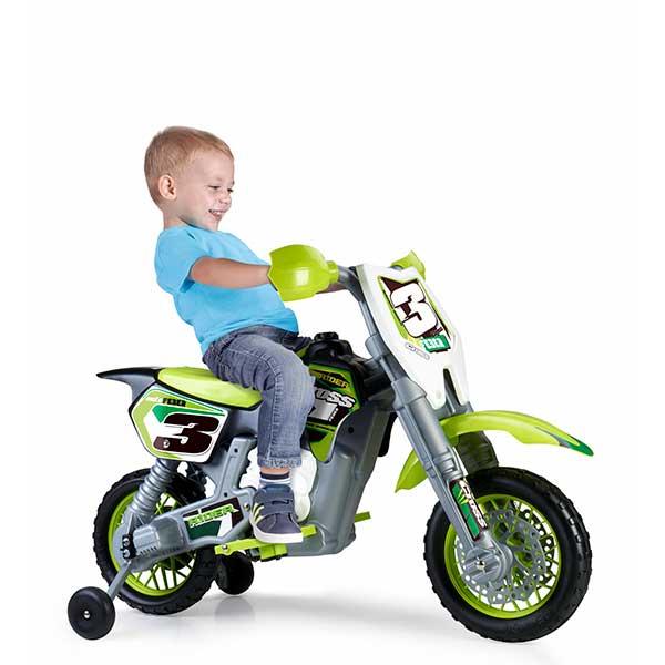 Moto Eléctrica Feber Rider Cross 6V - Imatge 1
