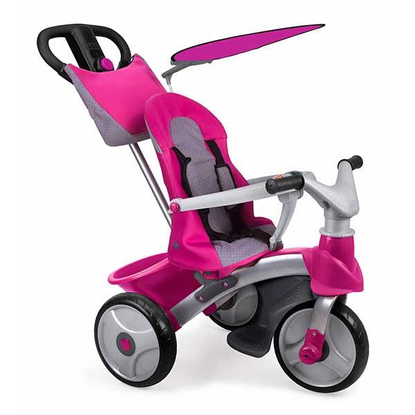 Tricicle Baby Trike Easy Evolution Pink de Feber (800009561) - Imatge 1