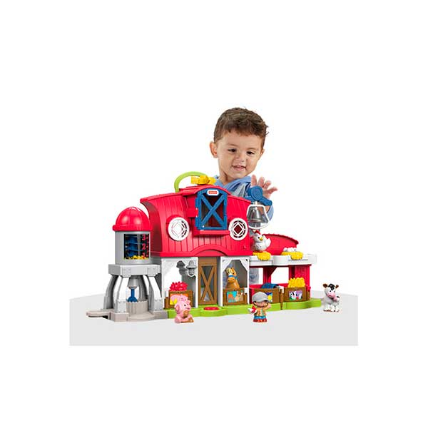 Fisher Price Little People Granja Cuida Animalitos - Imagen 1