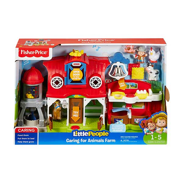 Fisher Price Little People Granja Cuida Animalitos - Imagen 2