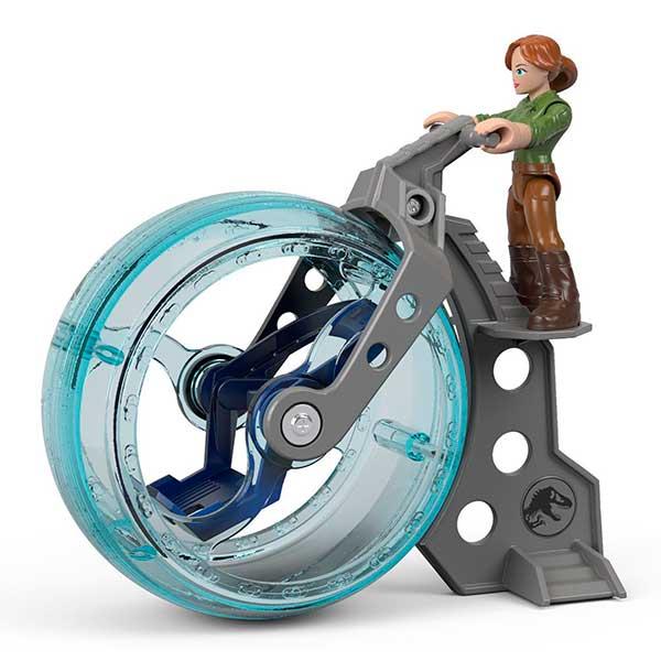 Imaginext Jurassic World Figura Claire con Esfera