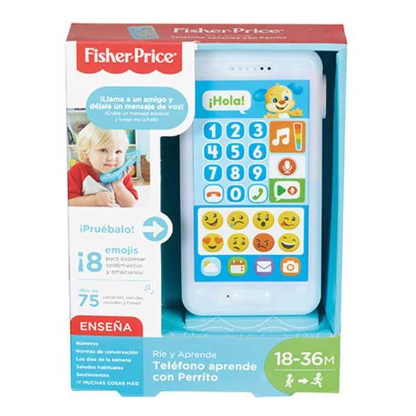 Fisher Price Teléfono Infantil Aprendo Perrito - Imagen 1