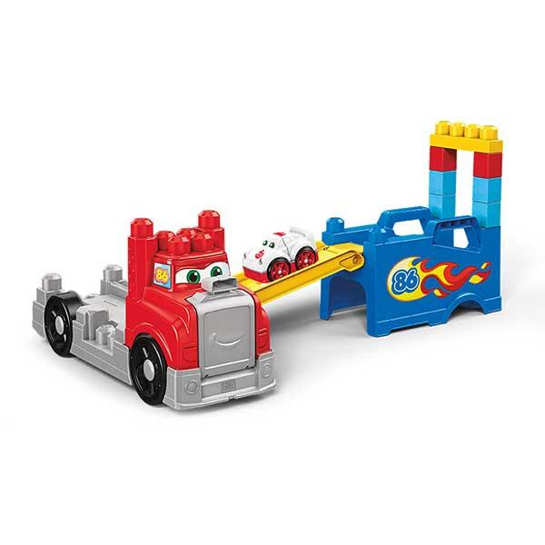 Fisher Price Camion de Carreras y Construccion Mega Bloks - Imagen 1